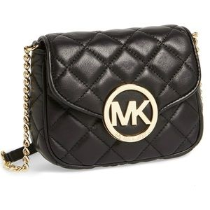 Michael Kors Small Fulton Quilted Crossbody Bag